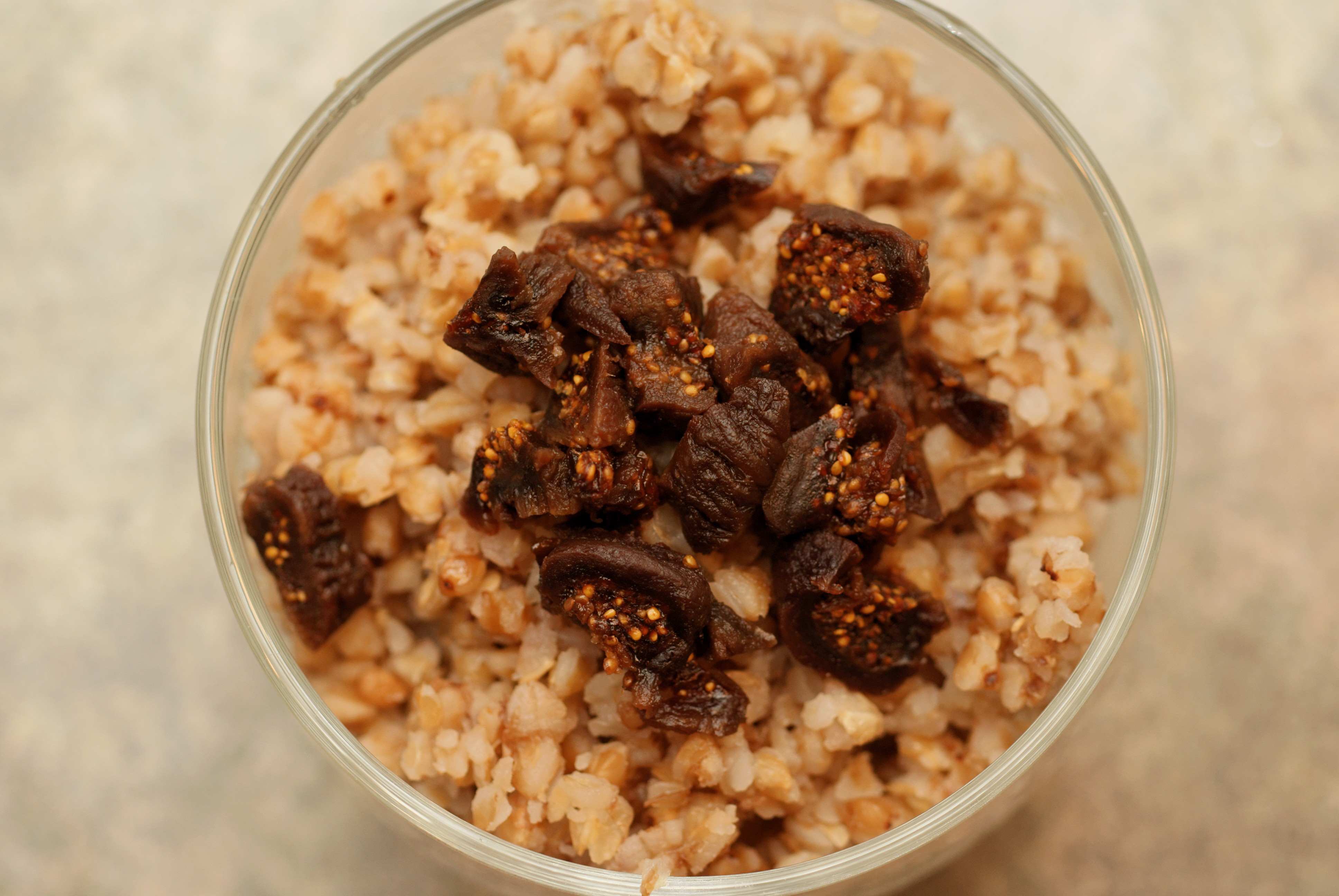 Buckwheat Kasha Recipe with Dried Mushrooms
