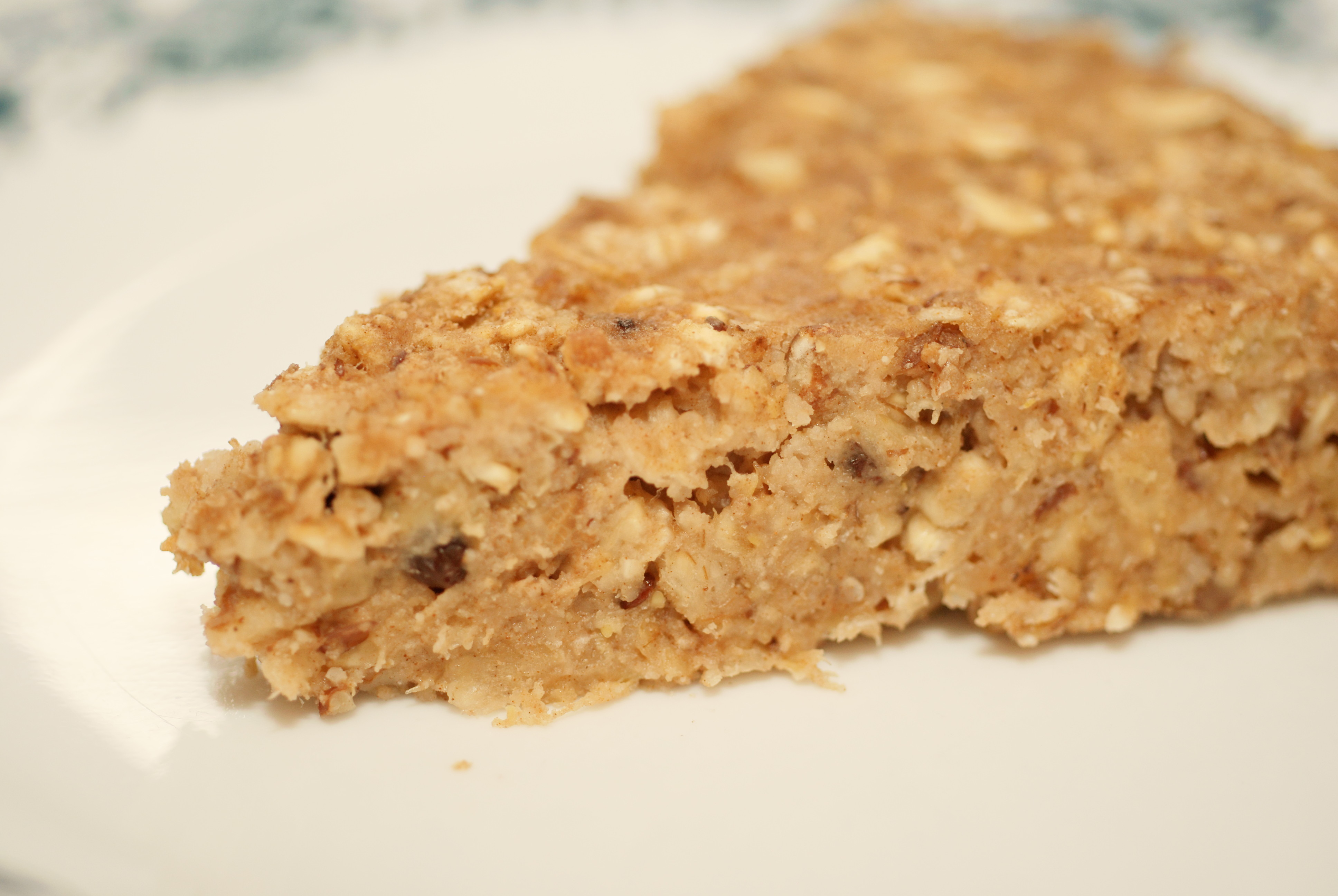 Granola Bar Pie…or Oatmeal Pecan Breakfast Bars | Raised from ...