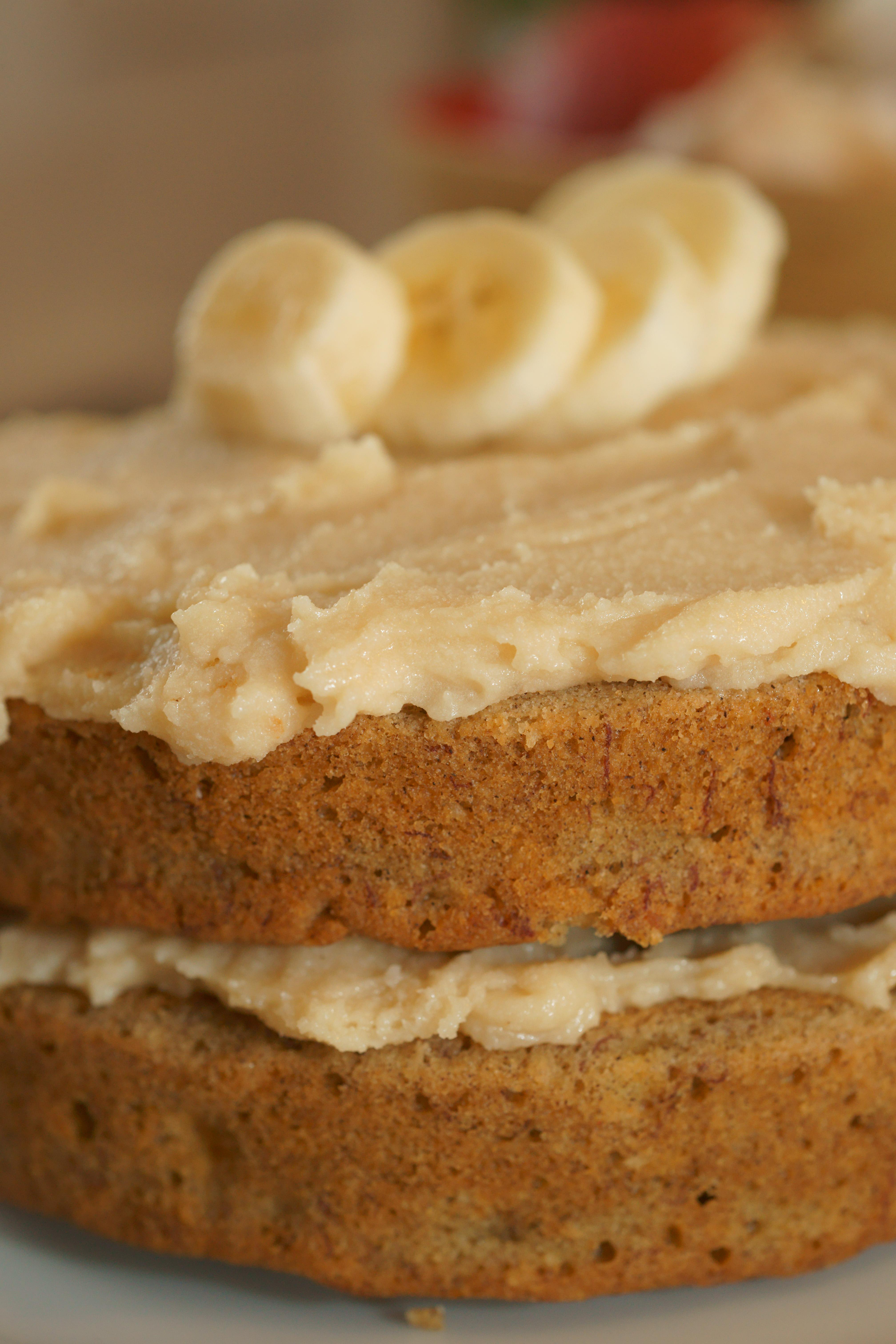 Banana Cake No Sugar Coconut Flour
