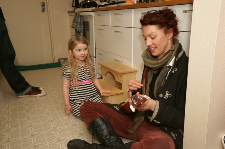 Amanda Palmer's 4 year old fan